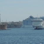 Erster Blick auf Sizilien